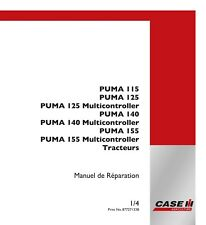 CASE PUMA 115 125 140 155 TRACTOR SERVICE MANUAL FRENCH