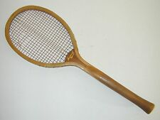 """Imperial"" Fantail Handle Antique Vintage Tennis Racquet was Jeanne Cherry's"