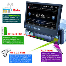 "7"" Quad Core 1 DIN Android 6.0 GPS 3G WIFI HD Screen Car Radio Stereo MP5+Player"