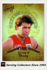 2015 Select AFL Honours S2 Brownlow Distinction BD71 Gerald Healy (Sydney)