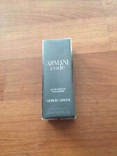 Giorgio Armani Code Eau De Toilette For Men 0.67 oz./ 20 ml New Sealed