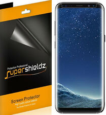 2X Supershieldz Samsung Galaxy S8 HD Clear Screen Protector [Case Friendly]