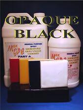 EPOXY BLACK RESIN 4 CASTING COATING FIBERGLASSING SEAL GEL COAT 4 BOATS 1.5gal !