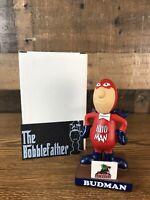 BUDMAN Lowell Spinners 2019 SGA Bobblehead Red Sox Budweiser Lite Beer Bobble