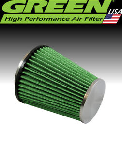 "Green Filter USA 2024 Universal High Flow Clamp-On Cone Filter 3.5"" ID 6.5"" L"