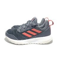 Adidas Altarun Casual Running Shoes Gray Red CG6020 Boys Size 1Y