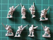 Peter Pig 15mm WWI Belgian Soldiers and Different Officer (8 figures)