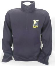 Crable NCAA Mens Lightweight Windbreaker Pullover Large White//Navy