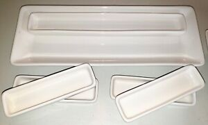 Pampered Chef Simple Additions Hostess Set 6 Pieces White