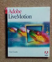 NEW & SEALED Apple Mac Adobe LiveMotion Live Motion User Guide