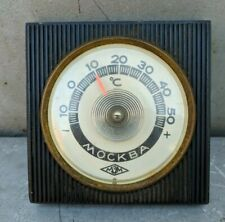 Thermometer Office Desk  MOSCOW Vintage Soviet Russian USSR