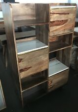 Atkin And Thyme - Deco Marble Shelving Unit, Rosewood, Brass, Storage, Luxury