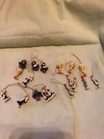 Looney Tunes Vintage Miniature Christmas Ornament Lot Bugs Bunny & More 18