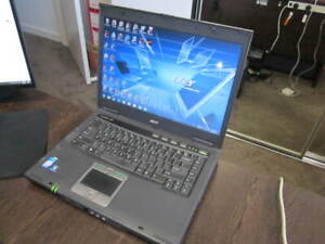 Retro Games/Apps Acer Travelmate 6592 Win7 Laptop MS Office RS-232 Port