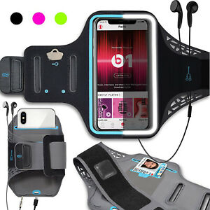 Armband Case Sports Gym Running Jogging Exercise Aym Band Phone Holder Key Card