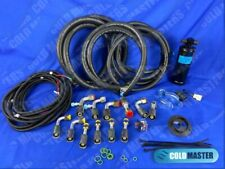 Air Conditioning A/C Hose Kit O-Ring Fittings Drier + Binary Switch 134a Ac Rod