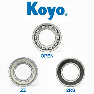 6000 Series Roller Bearings Koyo Deep Groove Bearings 6000 - 6412 Pick Sizes