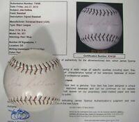 JOE COLLINS {1922-1989} NEW YORK YANKEES Signed Baseball Dated 1955 JSA LOA