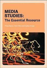 Media Studies: The Essential Resource (Essentials), Wall, Peter, Rayner, Philip,