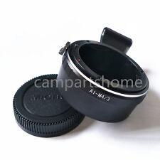 Tripod Nikon AI F Lens to Micro 4/3 M4/3 GH4 GH2 E-P2 E-P3 GF2 G1 G5 Adapter cap