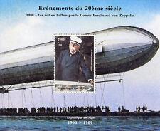 Niger 1998 MNH Ferdinand von Zeppelin 1v M/S Zeppelins Airships Aviation Stamps