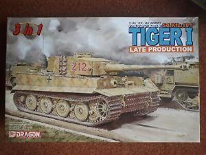 Dragon 6253 1/35 Tiger I Late Prod.  Normandy 1944 Model Kit