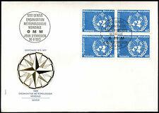 Suiza 1973, 40c meteorológicos Org. FDC Primer Día Cubierta #C37905