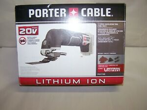 PORTER CABLE OSCILLATING TOOL ONLY SET 20V LITHIUM ION PCC710B - NEW