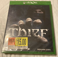 THIEF  - Microsoft Xbox One, 2014 -- NEW, Factory sealed BRAND NEW