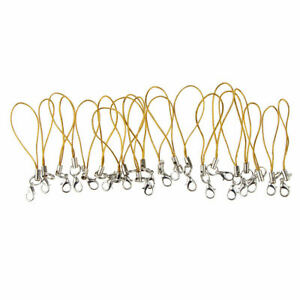 20pcs Cell Phone Accessory Lanyard Strap Charms Key Rope