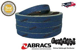ABRACS File Sanding Belts / Zirconium 40g 60g 80g / 6mm 10mm 12mm 13mm 19mm 20mm