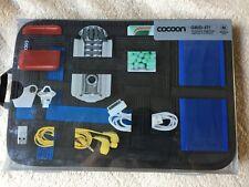 Cocoon GRID-IT. Accessory Organizer Case. Black/Blue Medium. New.