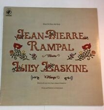Jean-Pierre Rampal Lily Laskine Music for flute & Harp