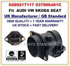 SEAT ALHAMBRA SKODA OCTAV 1.8T Mass Air Flow meter Sensor 0280217117 037906461C