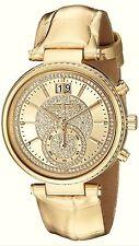MICHAEL KORS Uhr Damenuhr Armbanduhr Sawyer gold Chronograph MK 2444 NEU