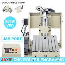 CNC Router Engraving Fraiseuse 3D VFD  Milling machine PCB fraiseuse Routeur new
