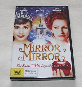 Mirror Mirror (DVD, 2012) New Sealed