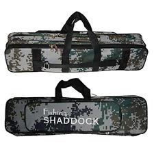 """62CM/24.5"""" Large Waterproof Fishing Rod Reel Bag Case Tackle Tool Gear Storage"""