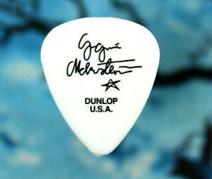Yngwie Malmsteen // Concert Tour Guitar Pick // Glossy White/Black (Blank Back)