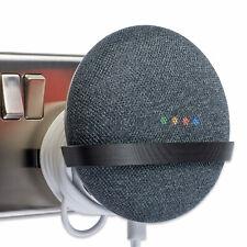 Power Plug Mount for Google Home Mini, Google Home Mini Bracket - Tiny, Black