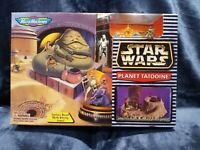 1996 Star Wars Micro Machines Planet Tatooine Playset w/ Jabba the Hutt NEW