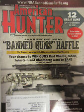 American Hunter Magazine October 2013 Banned Guns Raffle 12 Great Guns  Get Goat