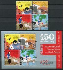 Hongkong 2013 Rotes Kreuz Red Cross Medizin Medicine 1799-1802 Block 256 MNH