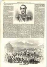 1854 Baldomero Espartero público entrada Madrid