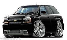 Chevrolet Trail Blazer SS Wall Graphic Decal Home Decor Shop Tools 4x4 Truck NEW