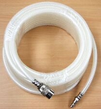 "1/4"" x 50 FT PVC Clear Air Hose Quick Coupler Fittings"