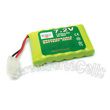 1 x Rechargeable Battery Pack For 7.2V 1300mAh NiMH  RC