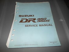 Factory OEM Suzuki 1990 DR350 DR350S Service Manual 8chpt