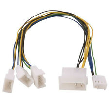 Evercool EC-DF002 4 pin Molex to 3x 4 pin PWM Fan Splitter Cable Adapter