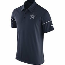 NFL Dallas Cowboys Men's Navy Team Issue Polo T-Shirt, XX-Large